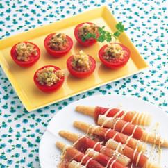 中華風トマト(写真上)
