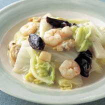 白菜の海鮮炒め