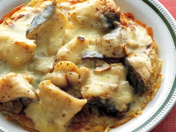 たらとポテトのとろ~りチーズ