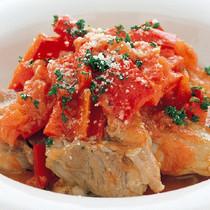 鶏肉の洋風トマト煮