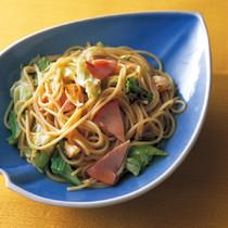 とろとろキャベツのスパゲティ