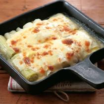 ねぎのチーズ焼き