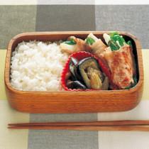 二色野菜の肉巻き