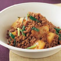 ひき肉とじゃがいもの韓国風炒め煮