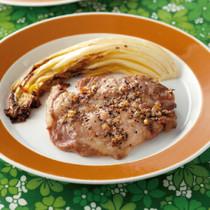 豚肉のガーリック焼き
