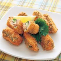 鮭のしそチーズフライ