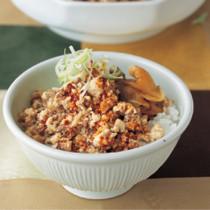 くずし豆腐の韓国風煮