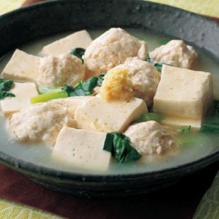 豆腐と肉だんごの中華風あっさり煮