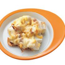 はんぺんのおかかマヨチーズ焼き
