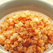 にんじんと鶏ひき肉のケチャップライス