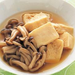 凍豆腐の煮もの
