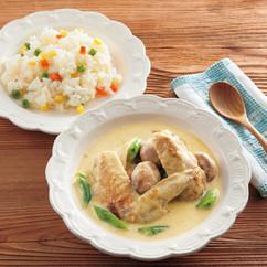 チキンカレークリームスープ