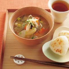 根野菜たっぷり豚汁