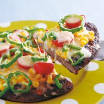 ビッグハンバーグピザ