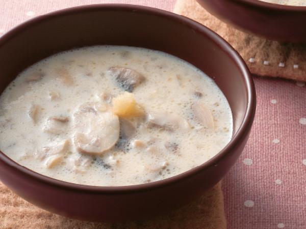 マッシュルームのクリームスープ