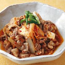 豚肉と豆腐のキムチ煮