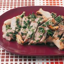 豚肉のパセリグリル