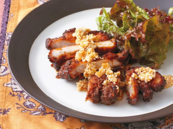 豚肉の韓国風から揚げ