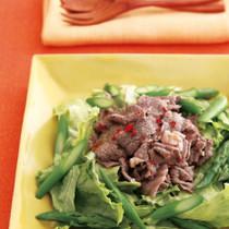 牛肉のエスニックサラダ