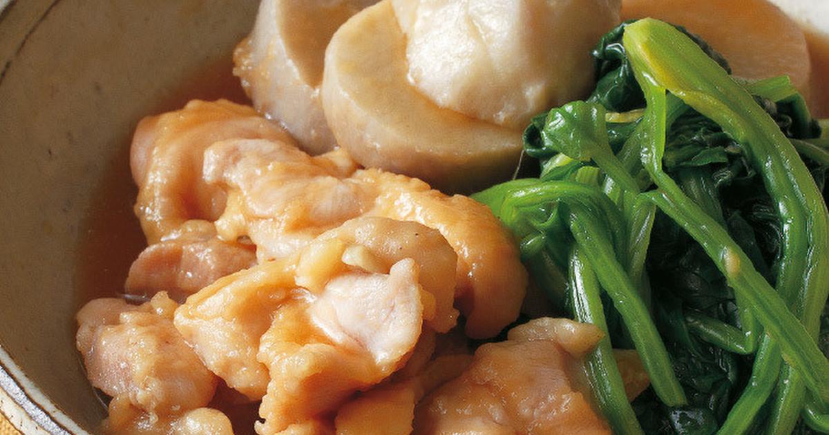 有名人・料理家のレシピが見放題!鶏肉と里いもの治部煮