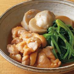 鶏肉と里いもの治部煮