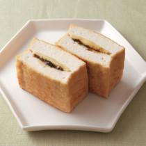 厚揚げののりチーズ焼き