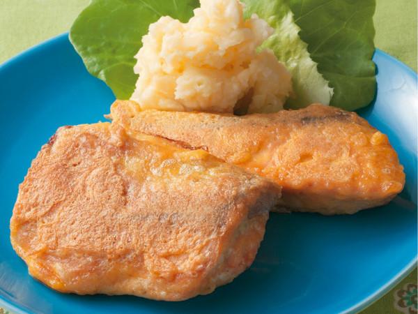 鮭のチーズピカタ