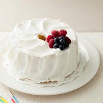 シンプルバースデーケーキ