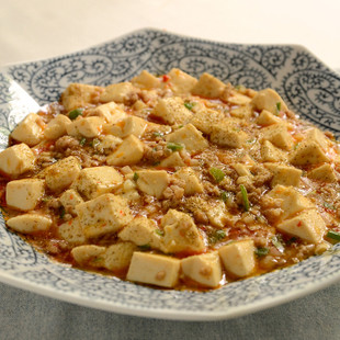 定番の麻婆豆腐