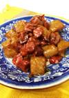 砂肝とこんにゃくのピリ辛炒め煮