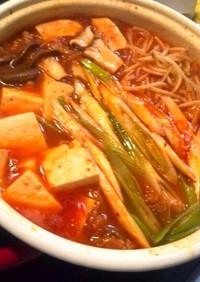 素&味噌&鶏ガラ不要♥濃厚甘辛キムチ鍋