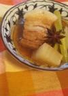 黒酢と八角の豚角煮♪