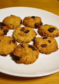 オートミールとフルグラのザクザククッキー