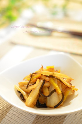 材料3つで箸休め♫白菜の柚子昆布炒め✿