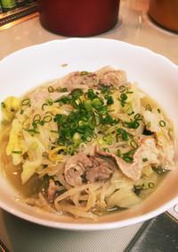 炊飯器で豚バラ肉と白菜トロトロ煮