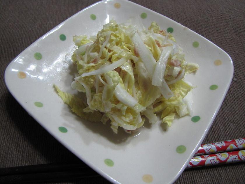 簡単に作れる白菜のサラダ