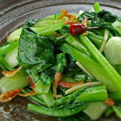W冬野菜の塩炒め