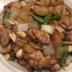 鶏肉と甘唐辛子の炒め物