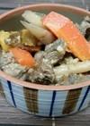 ジビエ*熊肉と根菜の柔らか味噌煮込み