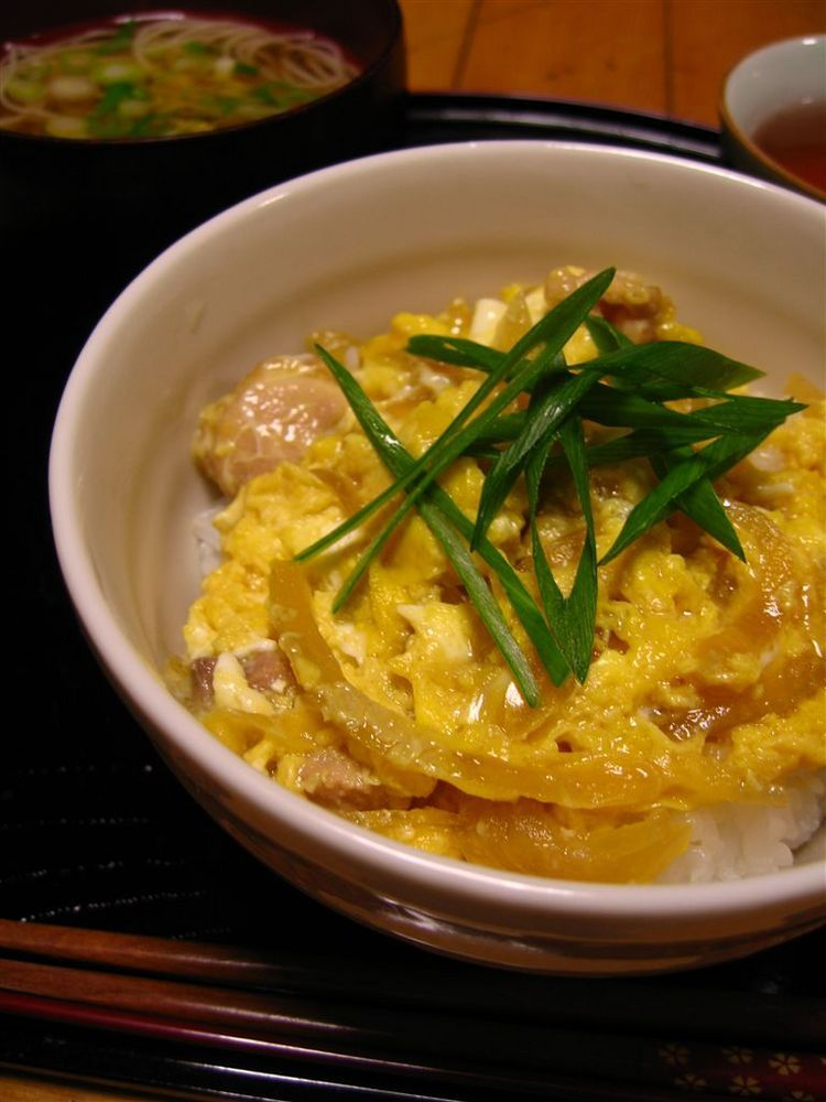 フライパンで作る簡単親子丼☆