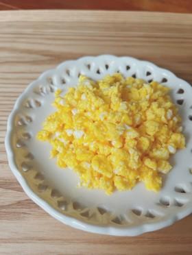 簡単!炒り卵!電子レンジで!お弁当にも