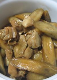 こってり★鶏とごぼうの煮物
