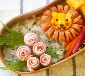 魚肉ソーセージdeバラのお花