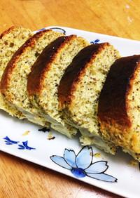 HMでノンオイル紅茶パウンドケーキ