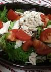 蒸し鶏とパクチーのサラダ☆