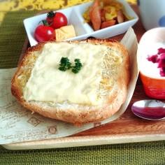 簡単☆忙しい朝にしらすチーズトースト