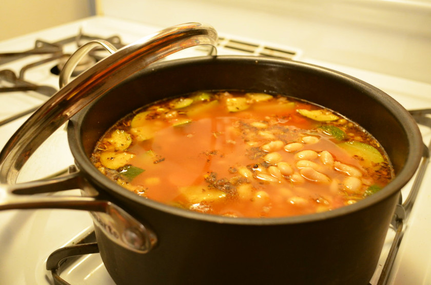イタリアンソーセージスープ