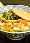 【最中お茶漬け】常備菜や焼き魚をだし茶で