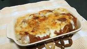 トマトソースリメイク!ポテトのチーズ焼き