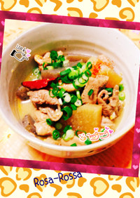 ✨モツ煮だょよ〜ん♪✨